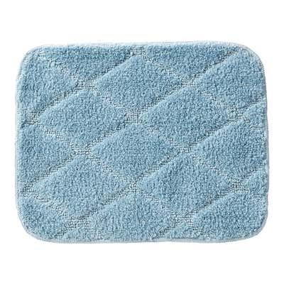 Badteppich mit rutschhemmender Unterseite, ca. 40x50cm