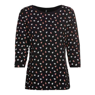 Damen-Shirt mit Glitzer-Muster