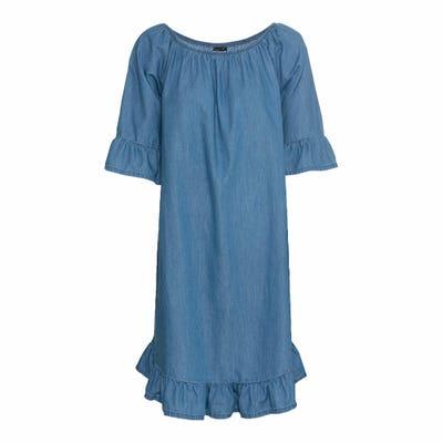 Damen-Kleid mit Volant