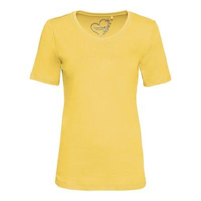 Damen-T-Shirt mit Rundhalsausschnitt