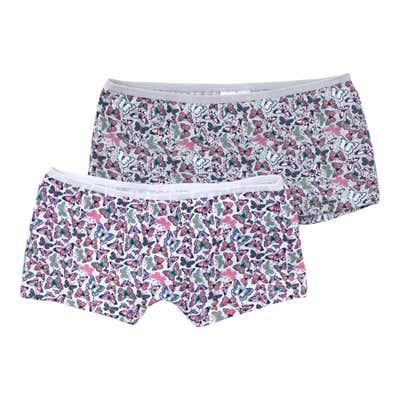 Kids-Mädchen-Panties mit Schmetterlingen, 2er-Pack