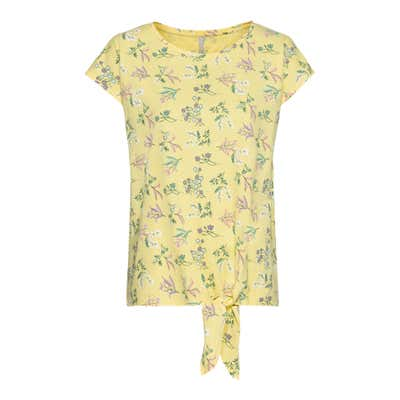 Damen-T-Shirt mit Knoten