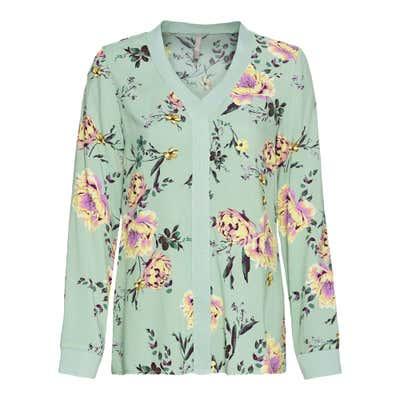 Damen-Bluse im floralem-Design