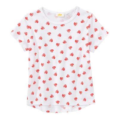 Mädchen-T-Shirt mit Herzchen-Motiv