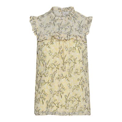 Damen-Bluse mit schicken Rüschen