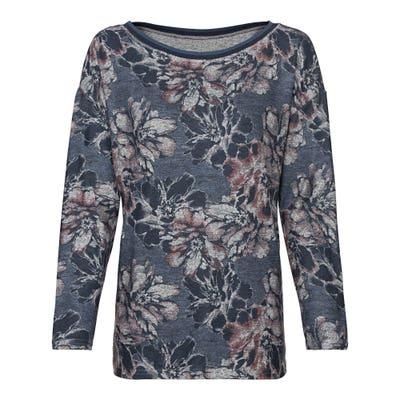 Damen-Sweatshirt mit Kontrast-Band
