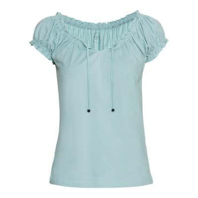 Damen-T-Shirt mit Schnürbänder