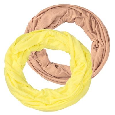 Damen-Loop-Schal, 2er-Pack