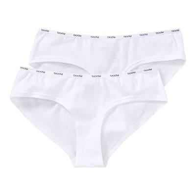 Damen-Panty mit Schriftzug, 2er-Pack