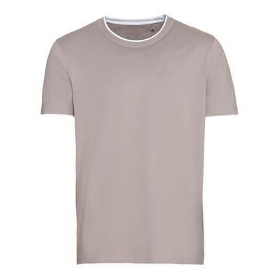 Herren-T-Shirt im 2-in-1-Look
