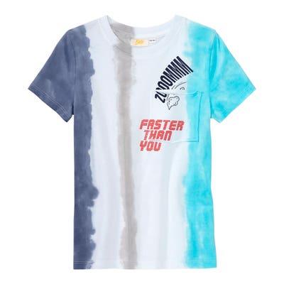 Jungen T-Shirt mit Batik-Effekt