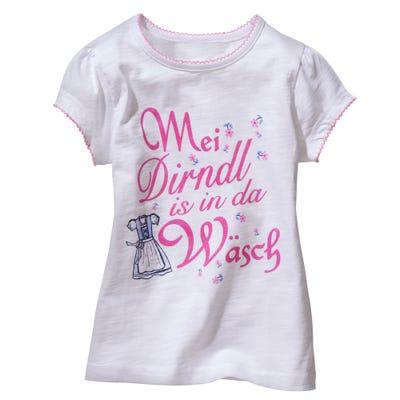 Kinder-Mädchen-T-Shirt mit witzigem Aufdruck