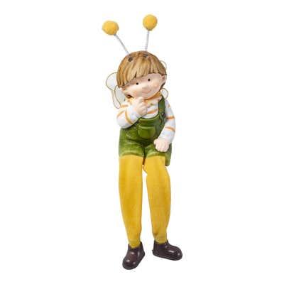 Deko-Figur mit Hängebeinen, ca. 5x5x13cm
