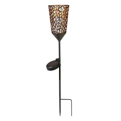Solarstick-Stab mit Flammeneffekt, ca. 10x85cm