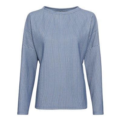 Damen-Sweatshirt mit überschnittenen Schultern