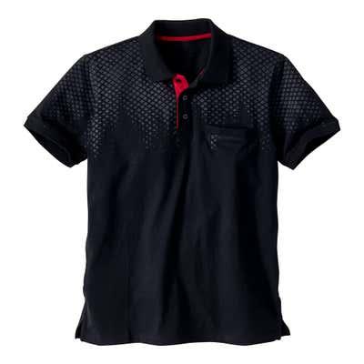 Herren-Poloshirt in Sport-Optik