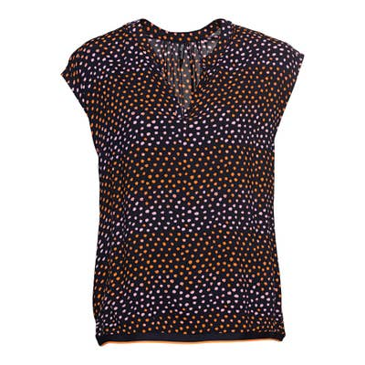 Damen-Bluse mit abstraktem Muster