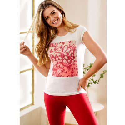 Damen-T-Shirt mit Frontdruck