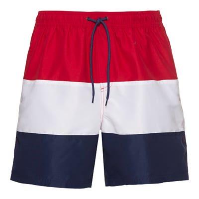 Herren-Badeshorts in den Farben der Französischen Flagge