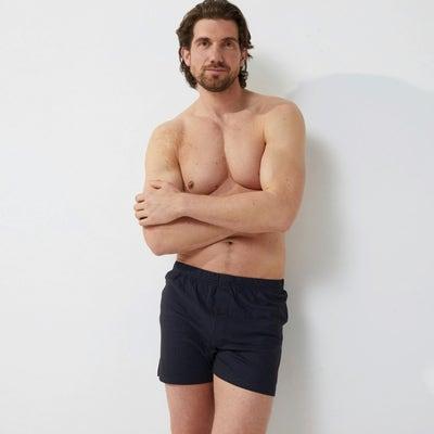 Herren-Boxershorts aus reiner Baumwolle, 2er-Pack