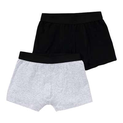 Teener-Jungen-Retroshorts, 2er-Pack