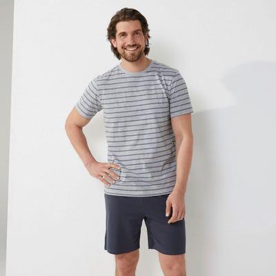 Herren-Schlafanzug mit Streifen