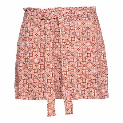 Damen-Shorts mit Gürtel