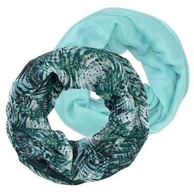 Damen-Schal in verschiedenen Designs, 2er-Pack