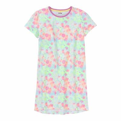 Mädchen-Nachthemd mit Mustern