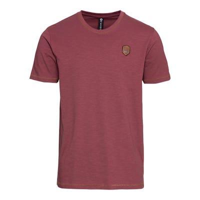 Herren-T-Shirt mit kontrastfarbenen Nähten