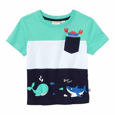 Baby-Jungen-T-Shirt mit Meerestieren