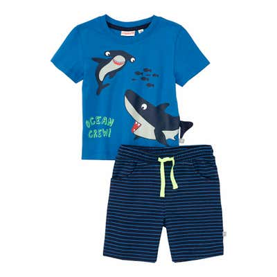 Baby-Jungen-Set mit Haien