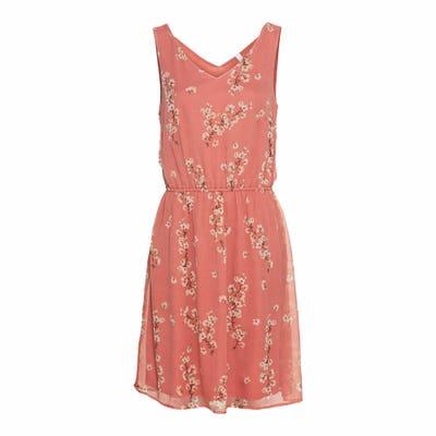 Damen-Kleid mit Blüten-Muster