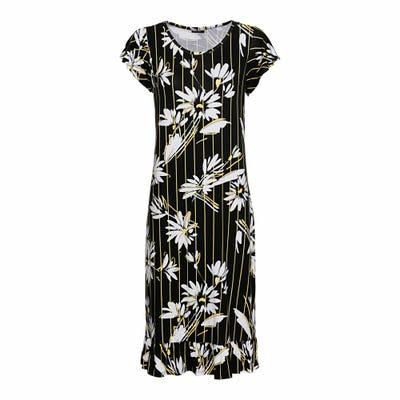 Damen-Kleid mit modernen Muster