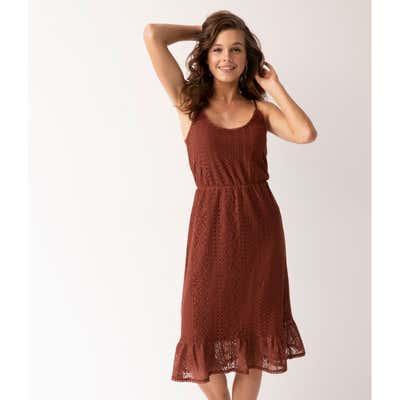 Damen-Kleid mit Spitze