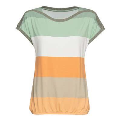 Damen-T-Shirt mit Streifen