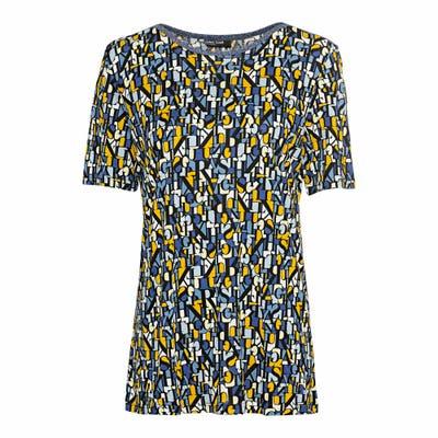 Damen-T-Shirt mit Lurexband