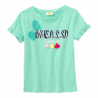 Mädchen-T-Shirt mit Tasseln