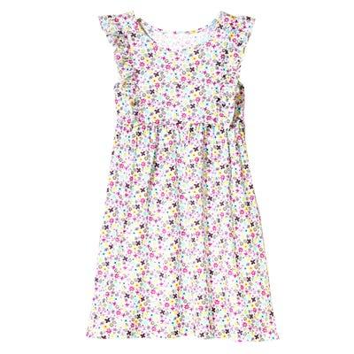 Kinder-Mädchen-Kleid in farbenfrohem Design
