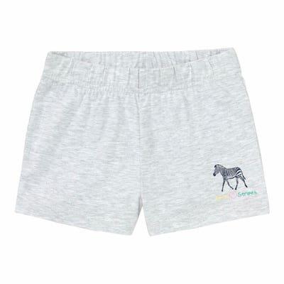 Mädchen-Shorts mit Zebra-Aufdruck