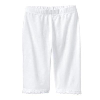 Kinder-Mädchen-Radler-Hose mit Baumwolle, 2er-Pack
