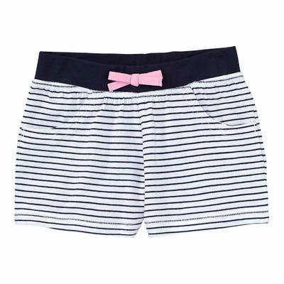 Mädchen-Shorts mit Streifen