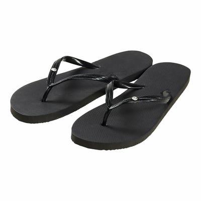 Damen-Slipper-Schuhe mit Zehentrenner