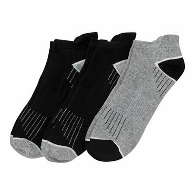 Herren-Sport-Sneaker-Socken mit Protektor , 3er-Pack