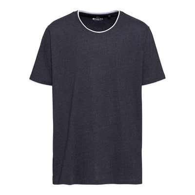 Herren-T-Shirt mit Rundhalsausschnitt, große Größen