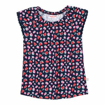 Baby-Mädchen-T-Shirt mit Spitze