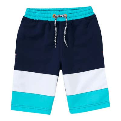 Jungen-Bermudas mit Color-Blocking
