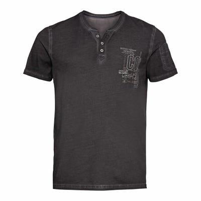 Herren-T-Shirt mit Tasche am Arm