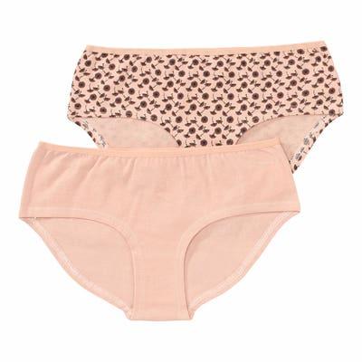 Damen-Panty mit Pusteblumen-Muster, 2er-Pack
