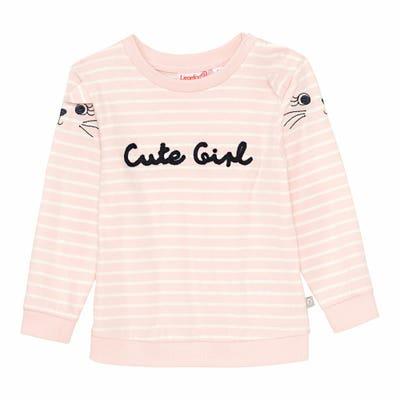 Baby-Mädchen-Shirt mit Streifenmuster